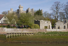 Château d'Arundel. Le Sussex occidental. LE R-U images libres de droits
