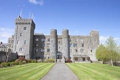 Château d'Ashford et jardins dans Cong, Irlande. Photographie stock libre de droits