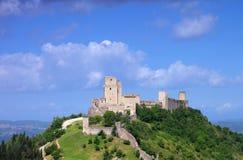Château d'Assisi Photographie stock libre de droits