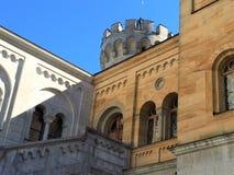 Château d'Autrichien de Salzbourg Photo libre de droits