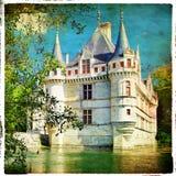Château d'Azay le Rideau Photo libre de droits