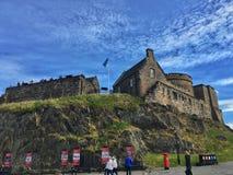 Château d'Edimbourg images libres de droits