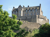 Château d'Edimbourg Photographie stock
