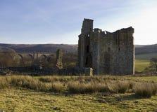 Château d'Edlingham northumberland image stock