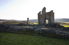 Château d'Edlingham northumberland images stock