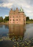 Château d'Egeskov au Danemark Photos libres de droits