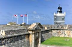 Château d'EL Morro, San Juan, Porto Rico Photo libre de droits