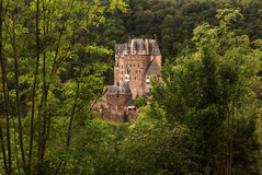Château d'Eltz de Burg, Allemagne photos stock