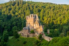Château d'Eltz de Burg au Rhénanie-Palatinat, Allemagne photographie stock libre de droits