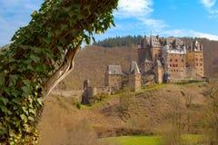Château d'Eltz de Burg dans l'état du Rhénanie-Palatinat, Allemagne photos stock