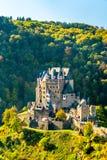 Château d'Eltz en automne l'allemagne image stock
