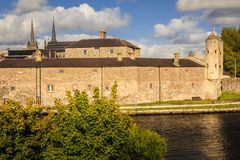 Château d'Enniskillen comté Fermanagh Irlande du Nord Images stock
