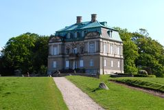 Château d'Eremitage Image libre de droits