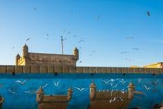 Château d'Essaouira Image stock