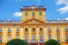 Château d'Esterhazy, Fertod, Hongrie Images libres de droits