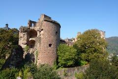 Château d'Heidelberg Image stock