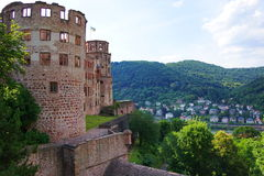Château d'Heidelberg Photo stock