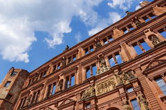 Château d'Heidelberg Photographie stock libre de droits