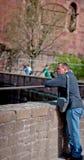 Château d'Heidelberg en Allemagne image libre de droits