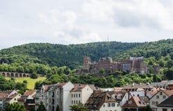 Château d'Heidelberg (Heidelberger Schloss) Images libres de droits