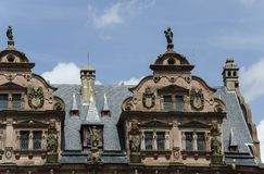 Château d'Heidelberg (Heidelberger Schloss) Photos libres de droits