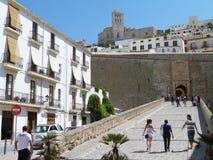 Château d'Ibiza Images libres de droits