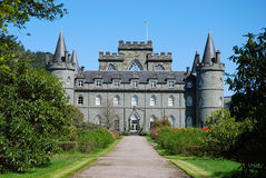 Château d'Inveraray Photos stock