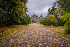 Château d'Inveraray, Ecosse Photos stock