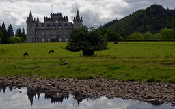 Château d'Inveraray, Ecosse, Royaume-Uni Photo libre de droits