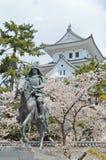 Château d'Ogaki à Gifu photos libres de droits