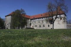 Château d'ohri de Budyne NAD photo libre de droits