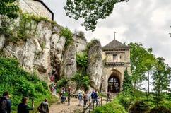 Château d'Ojcow en Pologne Image libre de droits