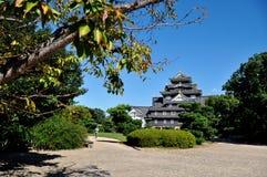 Château d'Okayama Photos stock