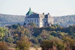 Château d'Olesko en Ukraine images libres de droits