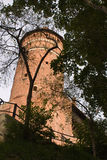 Château d'Olsztyn Photos stock