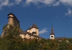 Château d'Orava photo stock