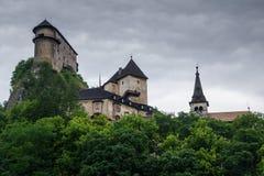 Château d'Orava image libre de droits