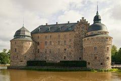 Château d'Orebro. Images stock
