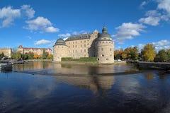 Château d'Orebro, Suède photographie stock libre de droits