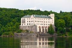 Château d'Orlik, République Tchèque Image stock