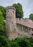Château d'Ortenberg de Burg Photo stock