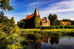Château d'Ortofta Photos stock