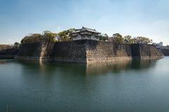 Château d'Osaka à Matsumoto, Japon Images stock