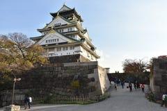 Château d'Osaka à Osaka égalisant, Japon Photos stock