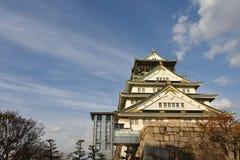 Château d'Osaka à Osaka égalisant, Japon Image stock