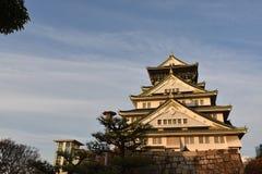 Château d'Osaka à Osaka égalisant, Japon Image libre de droits