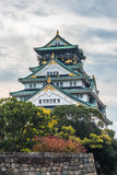Château d'Osaka, Japon Photographie stock