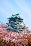 Château d'Osaka, Japon photographie stock libre de droits