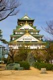 Château d'Osaka, Japon Images stock