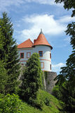 Château d'Ozalj, Croatie photo stock